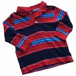 🧚♀4/$25 TOMMY HILFIGER Long Sleeve Polo Shirt